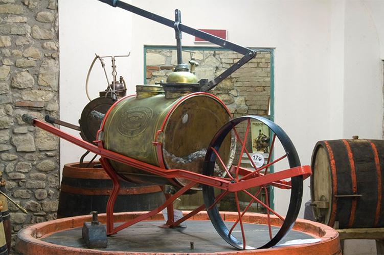 Wine Museum in Chianti - italian traditions