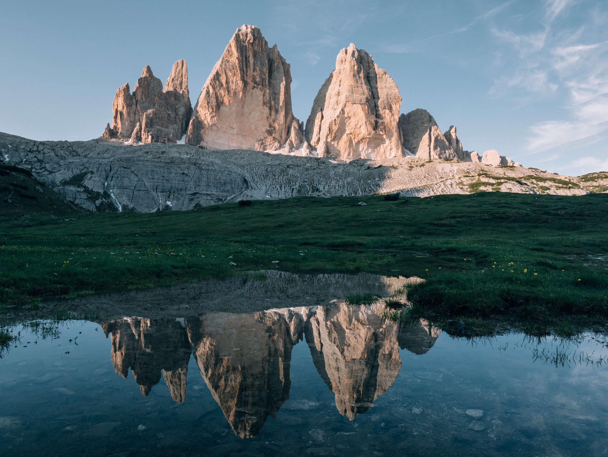 tre cime di lavaredo - italian traditions