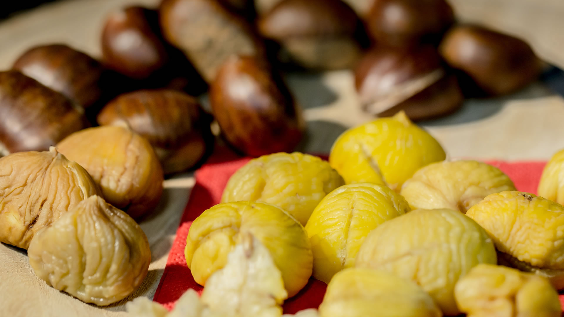 castagne, chestnuts