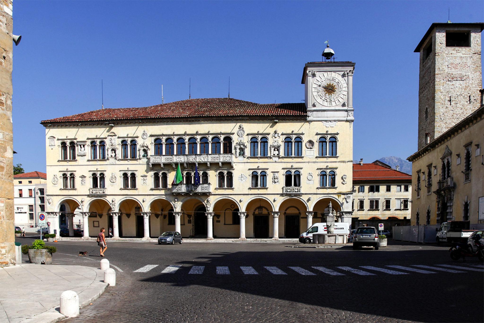 Belluno, dolomiti, italia, italy, duomo, Palais, Dolomites, Dolomiten