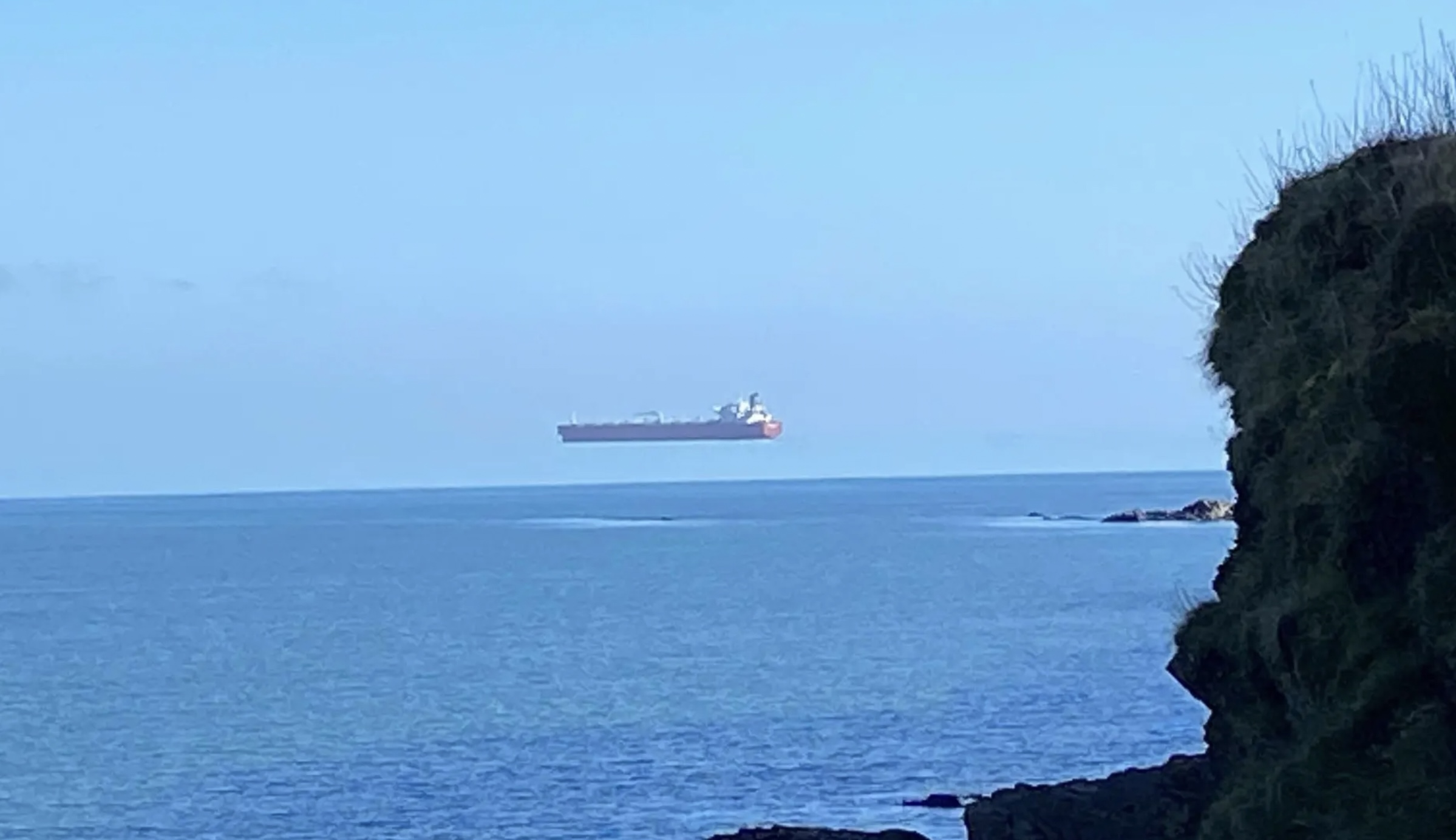 optical illusion on the Strait of Messina -italiantraditions
