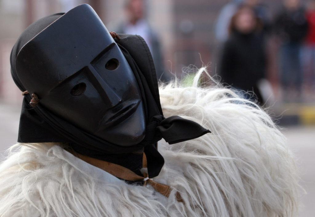 Sardinian carnival masks of Ottana-italiantraditions
