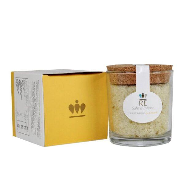 sel avec zeste de citron - italian traditions