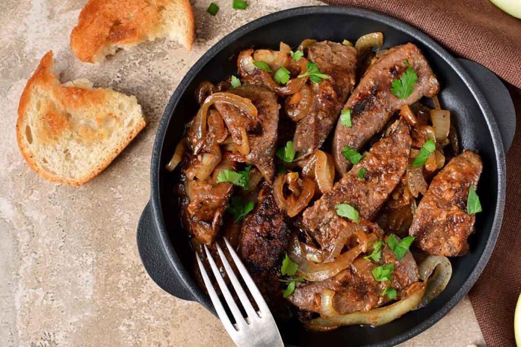 receta del hígado a la veneciana -italiantraditions