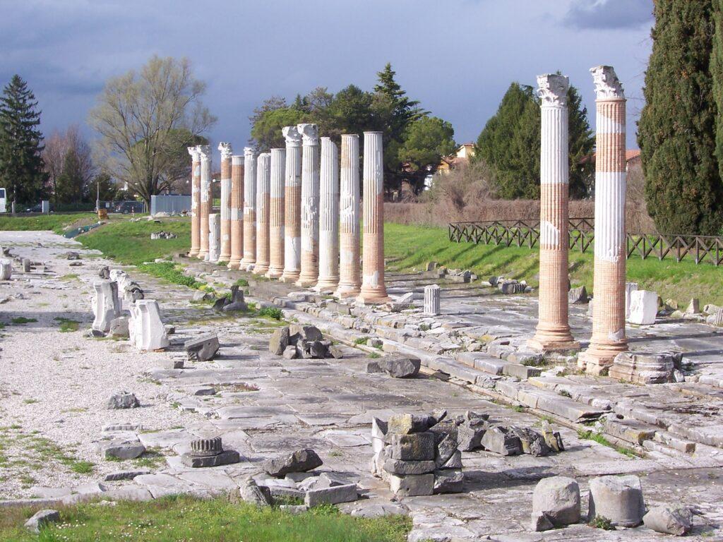 città italiane meno note che conservano resti romani-italiantraditions